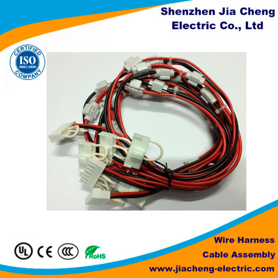 stereo radio adapter plug speaker wire harness for machine
