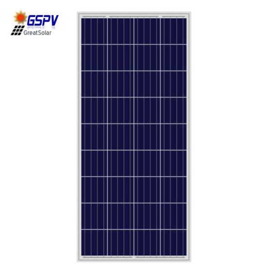 160W Poly Solar Panel with Good Efficiency From Chinese Manufacture