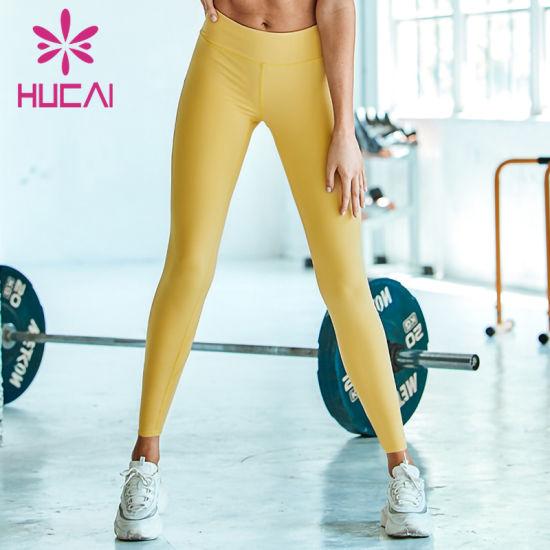 Custom High Waist Fitness Tights Pants Yoga Leggings Women Leggings