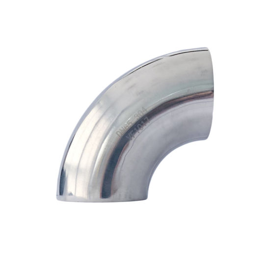 Lr 90 Deg Seamless Elbow Stainless Steel Mirror Polishing Pipe Fittings