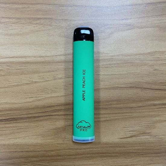 Auto-Color Changing 1600 Puffs Clearomizer Disposable Vapes