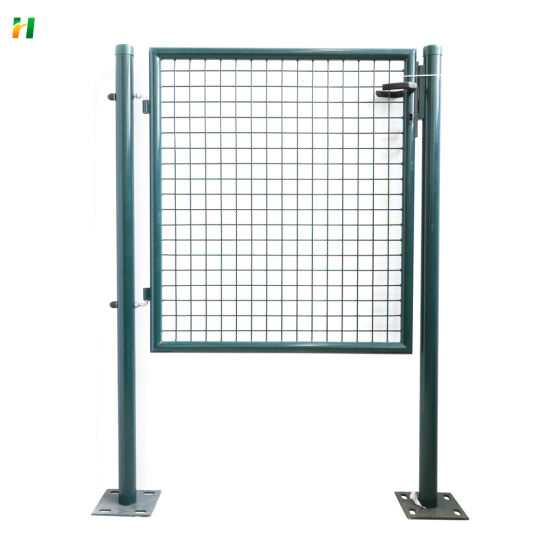 Hot Sale Top Quality Beatuiful Decorative Garden Gate Green Fence Gate Factory Price