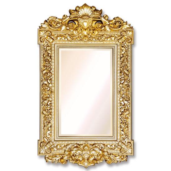 Banruo Antique Renaissance Polyurethane Mirror Frame for Wall Decor