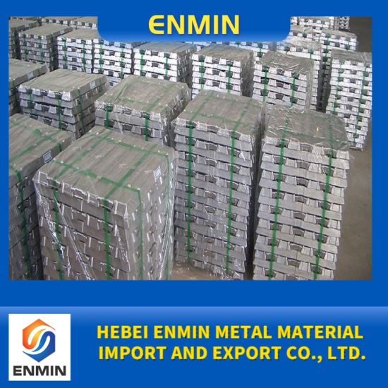 Factory Direct Sale Zinc Alloy Ingot Wholesale Price Made in China