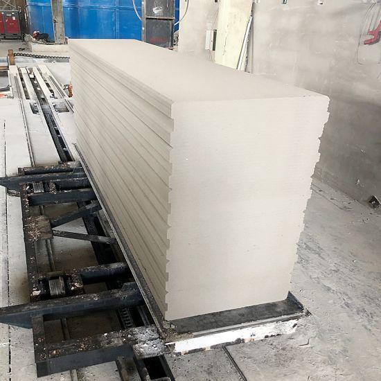 Industrial Constructions High Tech Aac Block Wall Panel