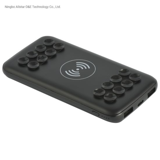 The Wireless Power Bank Embedded with Suction Cups
