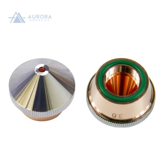 Dne Series Dia. 28mm H22 M14 Single Layer Chrome-Plated Caliber Customized Laser Nozzles for Fiber Laser Cutting Machine