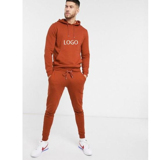 2021 Wholesale Latest Customized Design Men Slim Fit Tracksuit/ Men Sweatsuit/ Custom Made Men Jogging Suit