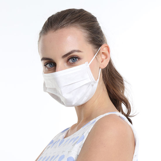 Isolation Disposable Non-Woven 3-Ply Face Mask with Earloop Professional Manufacturer with Ce FDA ISO Export Worldwide High Quality PP Face Mask