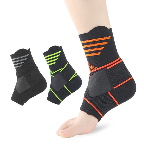 Elastic Nylon Ankle Pads Breathable Running Cycling Ankle Support Brace
