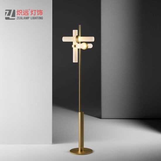 China Interior Decoration Indoor Glass Stand Floor Light China Floor Lamps For Living Room Standing Lights