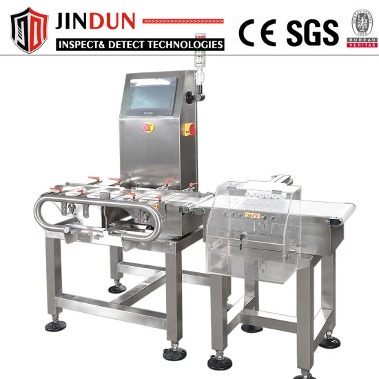 in-Motion Weight Check Machine with Hbm Load Cell