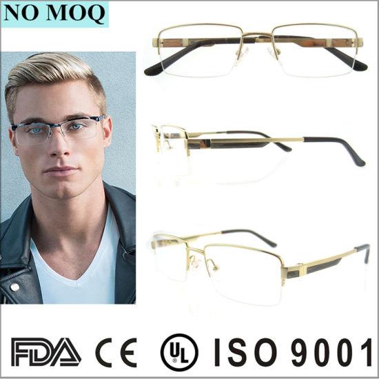 1fd94e7fe18 China Wenzhou New Model Gold Men Titanium Glasses Frame - China ...