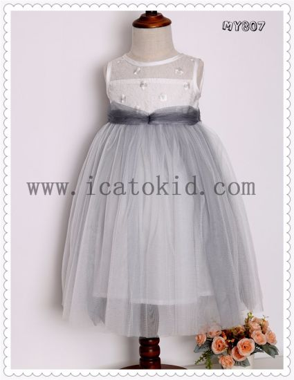1c08f0925ed75 Long Baby Frock Designs Wedding Dress Party Girls Dress for Christmas Party