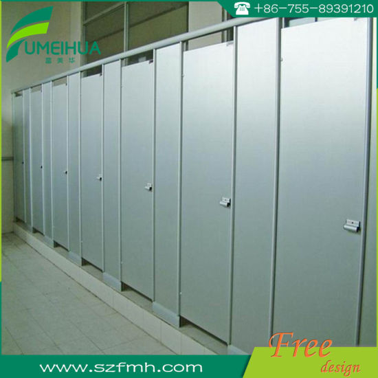 Ventilative Dampproof Compact Laminate Toilet Cubicle pictures & photos