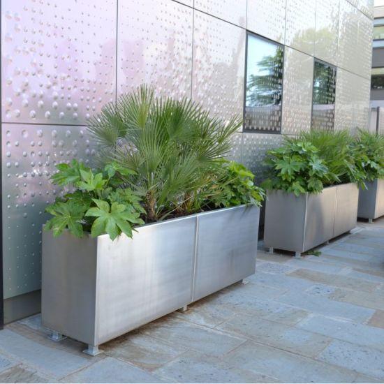 Square Flower Planter for Home Decoration/Home Decorative Garden Flower Pot