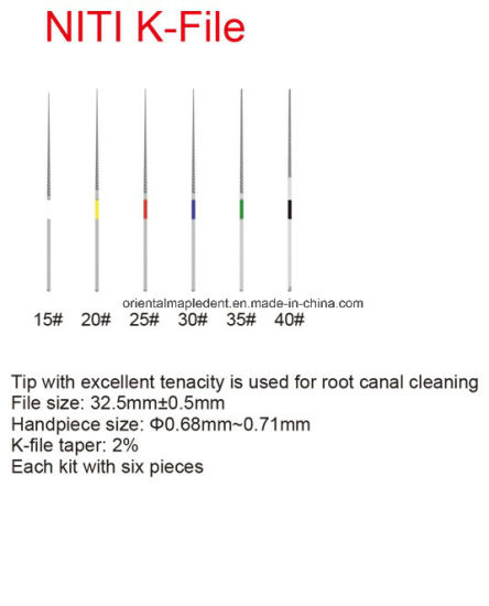 Woodpecker Ultrasonic Scale Tips for Endodontics pictures & photos