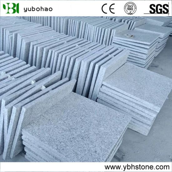 Chinese Cheap Flamed G603 Granite Tile of Buiding Material