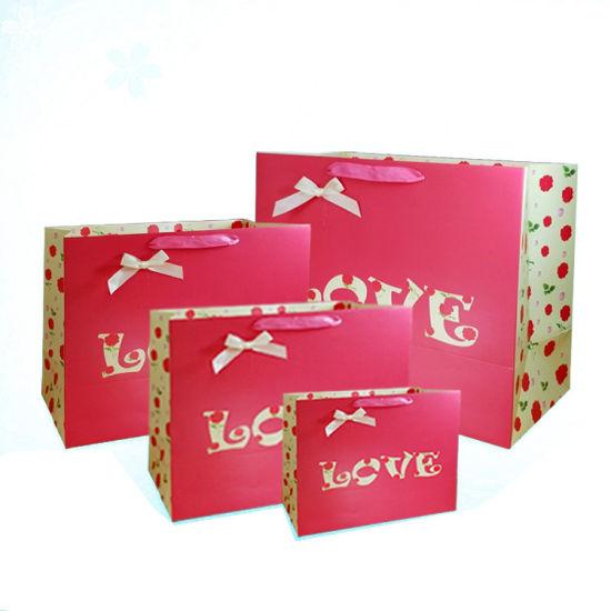 Wholesale Paper Reticule Packaging Bag Paper Bag