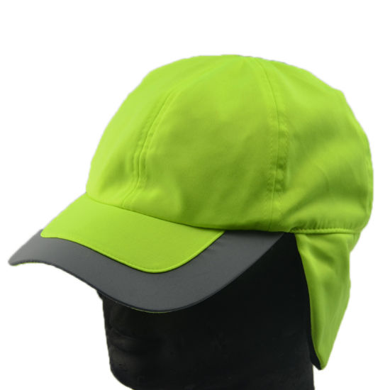 China Custom Sun Protection Hats Polyester Cap with Ear Flap - China ... 4a79aa265bc