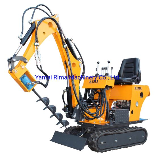 Small Mini Crawler Excavator Machine, Low Oil Consumption Hydraulic Mini Excavator