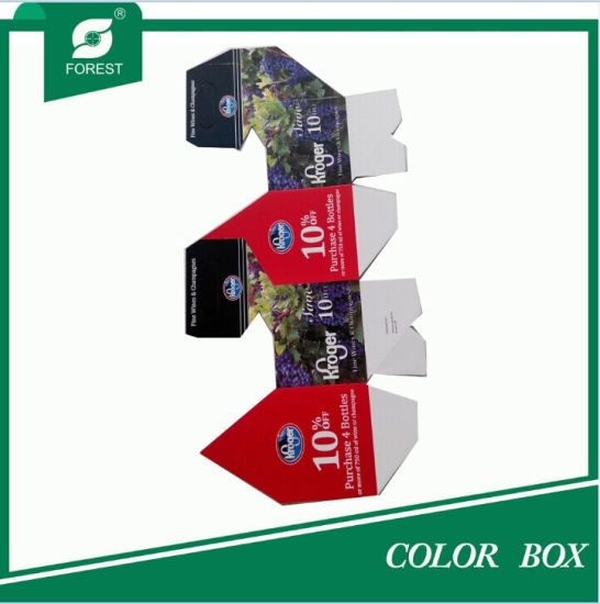 Printing Color Custom Paper Wine Package Box pictures & photos
