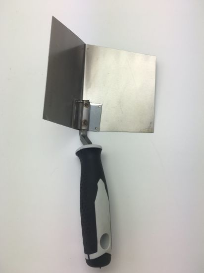 Inside Corner Trowel, Bicking Trowel with Soft Grip Handle pictures & photos