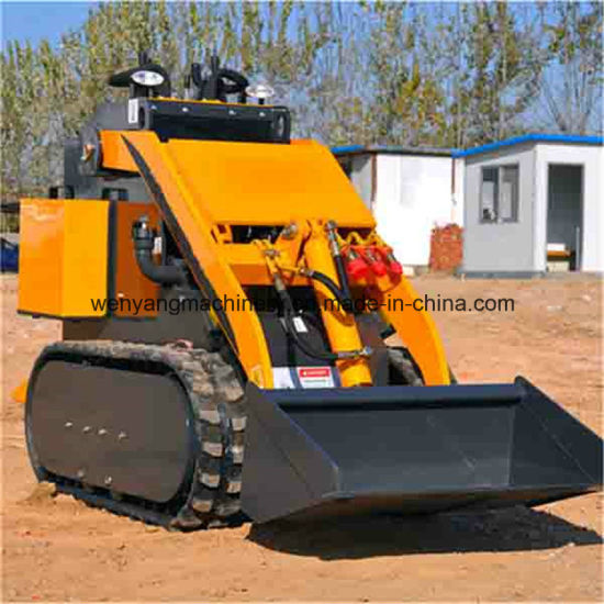 Mini Skid Steer Loader with Rubber Track pictures & photos