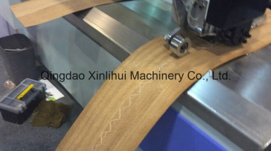 Mh1109 Veneer Edge Joint Splicing Machine Made In China Veneer Patcher Patching Machine Veneer Strip Finger Jointer Veneer Edge Jointer Machine