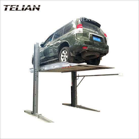 Suitable for Small Car Single Cylinder Two Post Car Parking Lift