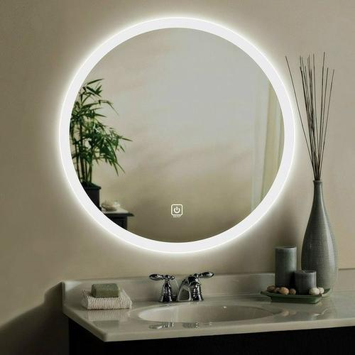 Modern Design LED Mirror for Bathroom Furniture /Bedroom with Touch Screen