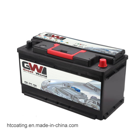 DIN100mf 12V 100ah Maintenance Free Auto Battery pictures & photos