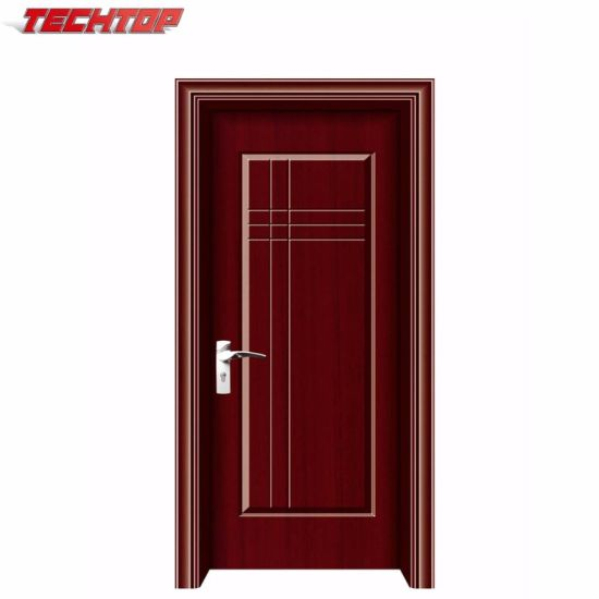 Tpw 002A Hot Latest Main House Gate Design Interior Wood Door