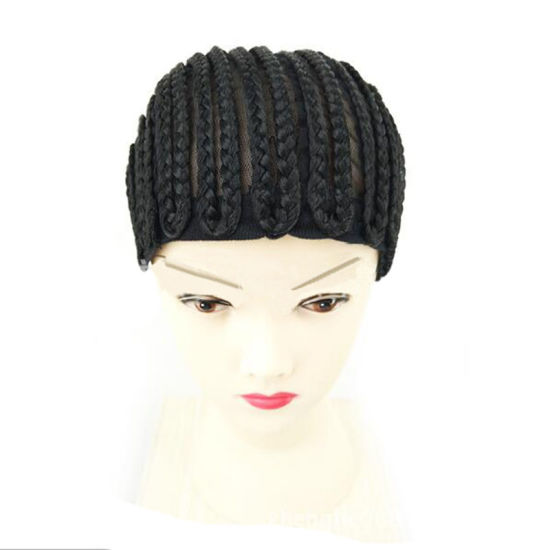 China Adjustable Strap Cornrow Cap Elastic Band Hair Wig Cap