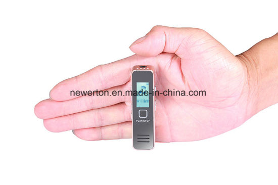 LCD Screen Mini Digital Audio Voice Recorder Dictaphone Recording Device pictures & photos