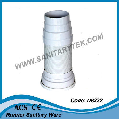 China Toilet Pan Connector, Toilet Waste Pipe (D8332) - China Toilet