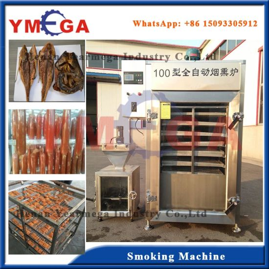 China Electric Catfish Drying and Smoking Machine for Sale