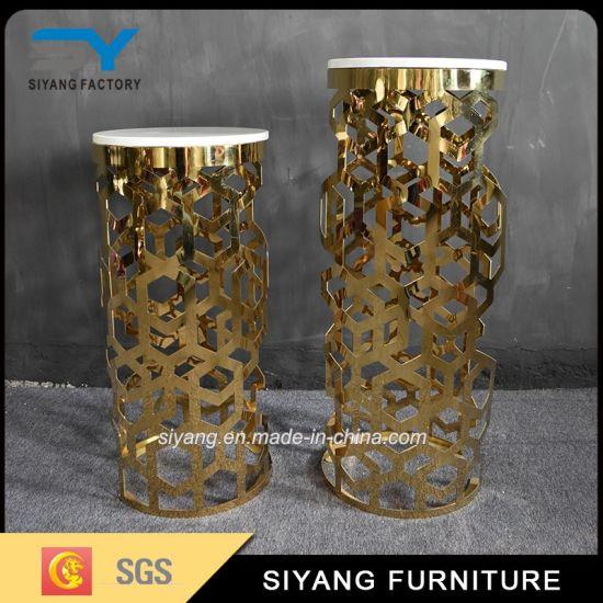 China Foshan Furniture Novel Wedding Decoration Flower Stand China