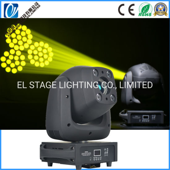 100W LED Spot Moving Head Light Adn 4*10W RGBW LED Wash Lighting for Disco Party