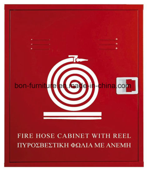 Metal Fire Hose Cabinet with Reel/Metal Fire Protection Cabinett pictures & photos