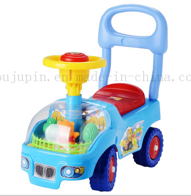 OEM Eco-Friendly Plastic Baby Kids Ride Toy Cart Car pictures & photos