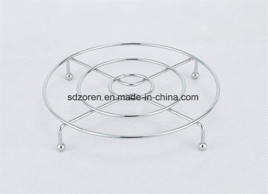 Round Chrome Metal Wire Cooling Rack pictures & photos