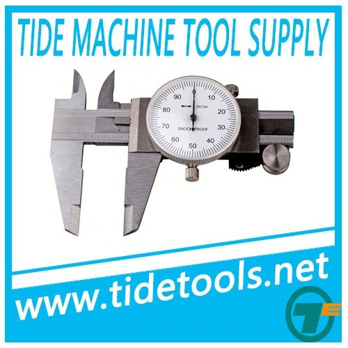 Inch and Metric Dial Caliper