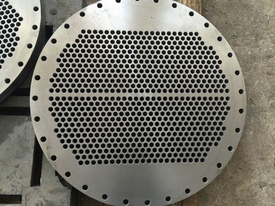 High Quality A182 F316/316L Condenser Drilled Tube Plates pictures & photos