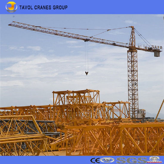 Qtz160 Construction Equipment 16 Ton Crane Topkit Tower Crane pictures & photos