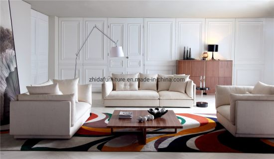 Chinese Factory Modern Living Room Fabric Hotel Sofa Furniture