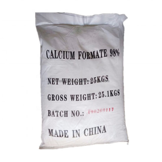 Factory Direct Feed Grade Additive Calcium Formate 98%