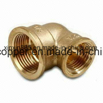 "90 Degree Forged Brass Elbow 1/2"" to 2"" pictures & photos"
