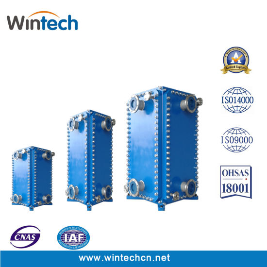 China WBH 1000 Wide Channel Plate Type Heat Exchanger/Plate and ...
