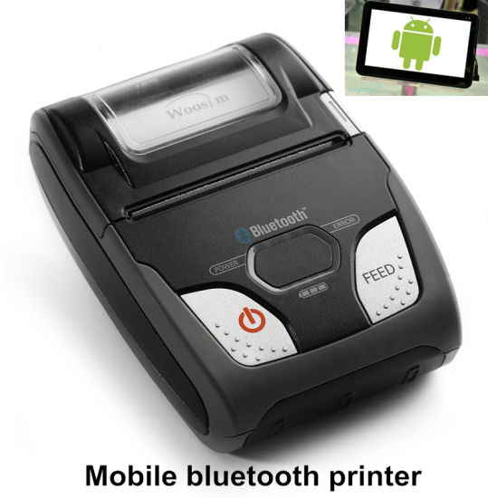 China 58mm Mini Android Bluetooth Thermal Usb Receipt Printer For